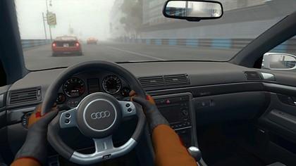 El interior de mi Audi