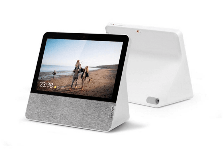 Pantalla inteligente con Asistente de Google - Lenovo Smart Display 7, Bluetooth, WiFi, Cámara, Altavoz