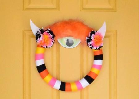 Manualidades Halloween Corona