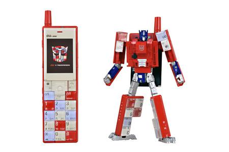 Estos teléfonos inspirados en los Transformers son más de lo que parecen, o eso quisiéramos