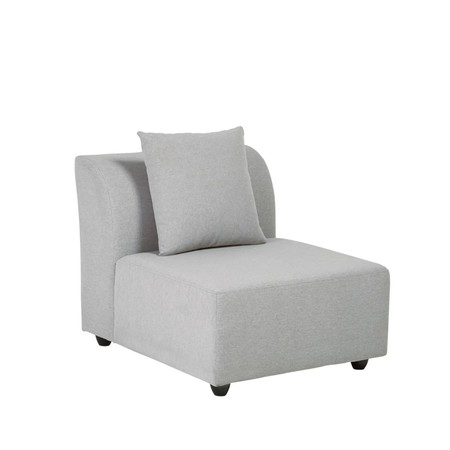 Butaca De Sofa Modular Gris Claro 1000 13 33 175759 2