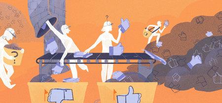 Facebook reconoce que existe un problema con la moderación de contenido