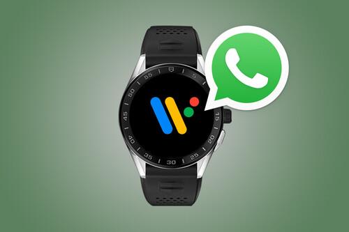 WhatsApp en un smartwatch Wear OS: cómo utilizarlo y todo lo que puedes hacer