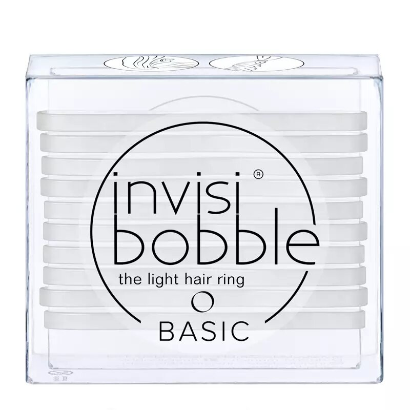 Invisibobble Basic The Light Hair Ring Crystal