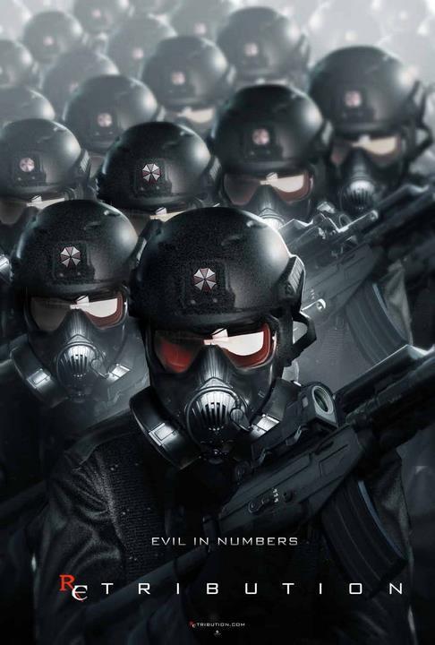 Nuevos carteles de 'Resident Evil: Venganza'