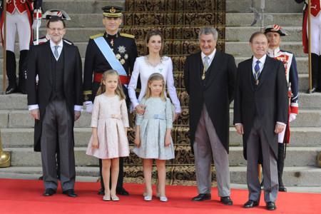 Rajoy Felipe VI Letizia Ortiz rey reina