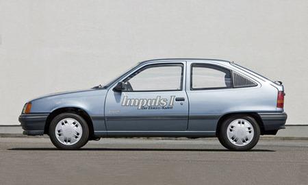 Clásicos eléctricos: Opel Impuls I, II y III