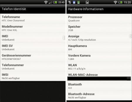 HTC podría lanzar el HTC One XXL, un monstruo con 4 núcleos, 2 GB de RAM y 4.7 pulgadas
