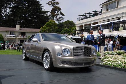 Mulsanne, la nueva berlina de lujo de Bentley