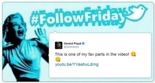 #FollowFriday de Poprosa: de la fiesta de Eva Longoria a las bromas de Piqué