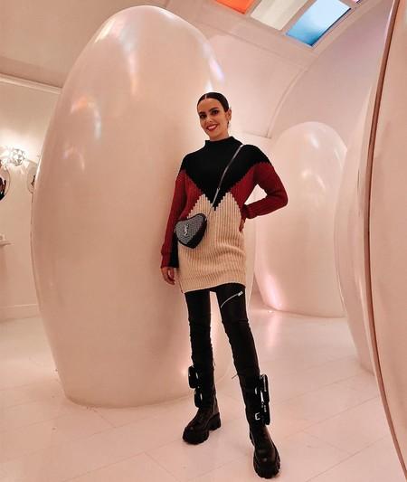 Las botas de cordones con bolsillos de Cristina Pedroche son de Prada y ya eran famosas entre el mejor streetstyle (las ha llevado hasta Rosalía)
