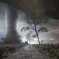 Esta espectacular tormenta es sólo una pequeña muestra de los maravillosos paisajes que este artista está creando en Dreams