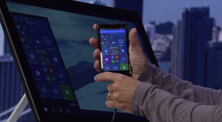 Con Windows 10 nuestro smartphone podrá convertirse en un PC