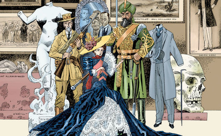 The League  of Extraordinary Gentlemen comic