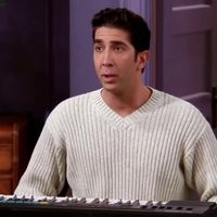 Ross con la cara de Nicolas Cage sigue siendo el Ross de 'Friends'