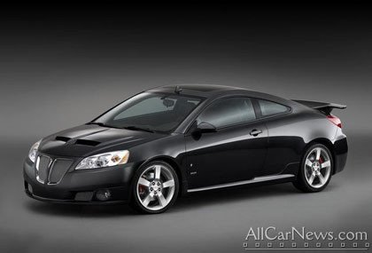 Pontiac presenta el Pontiac G6 GXP