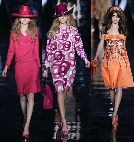 Christian Dior en la Semana de la Moda de Paris otoño/invierno 2008/2009