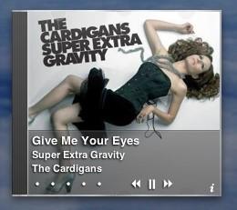 iTunes Artwork: Un elegante widget donde ver la portada del disco que escuchamos