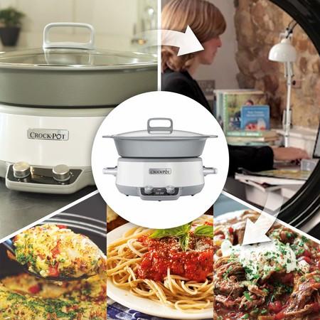 Oferta de Amazon para nuestra cocina: olla Crock-Pot Duraceramic CSC027X rebajada a 99,99 euros con envío gratis