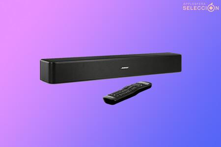 Compacta, con Bluetooth y buena calidad de audio: la barra de sonido para televisores Bose Solo 5 rebajada a 149 euros en Amazon