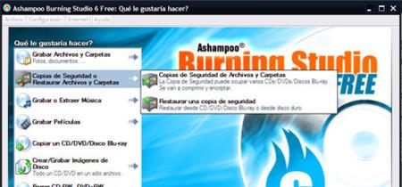 Ashampoo Burning Studio Free, suite de grabación gratuita