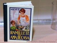 """Ramillete del ama de casa. """"El Nieves"""". Libro"""