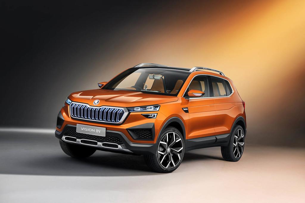 El SUV Škoda Vision IN será el primo indio del SEAT Arona y llegará en 2021