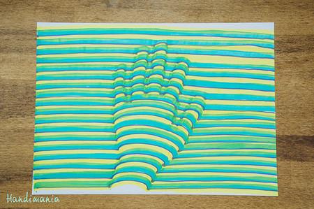 Cómo hacer que los peques dibujen su mano en 3D