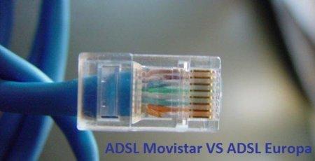 ¿Cómo es el ADSL de Movistar comparado con los de la Unión Europea?