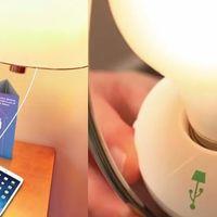 LampChamp añade un cargador USB a tus lámparas actuales