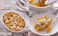 Receta de gratinado de pasta cremosa con calabaza