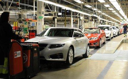 Saab sigue con su producción parada este verano