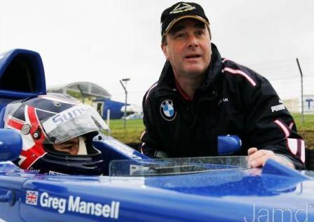 El compañero de Molina en Ultimate será el hijo de Nigel Mansell