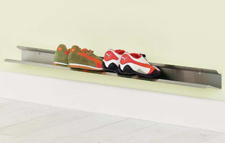 Horizontal Shoe Rack, organizador de zapatos minimalista