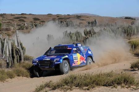 Carlos Sainz está a dos pasos de lograr la victoria en el Dakar