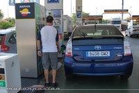 Gasolina y gasóleo raspan sus máximos históricos