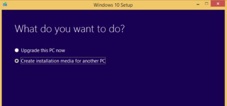 La actualización de noviembre de Windows 10 ya está de vuelta como ISO en la Media Creation Tool