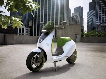 Asi es el scooter eléctrico de smart