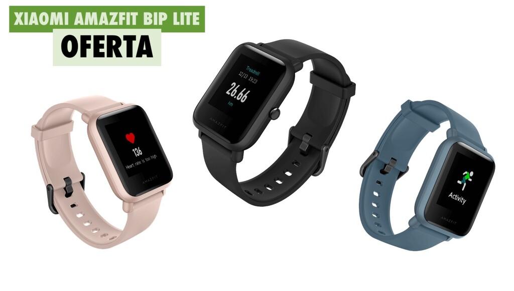 Amazfit Bip Lite, el smartwatch de Xiaomi con más de 1 mes de autonomía, rebajadísimo en Phone House: por 34,99 euros