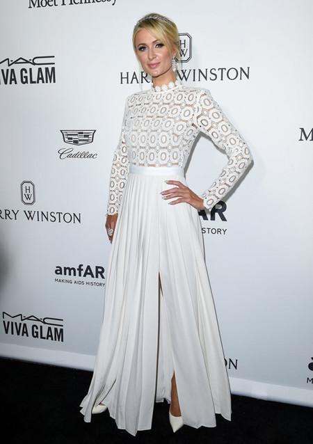 Paris Hilton Amfar Self Portrait