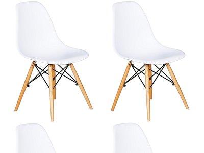 Pack de 4 sillas por sólo 65 euros (16,25 euros la unidad) y envío gratuito en Amazon