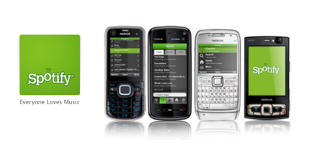 Spotify listo para descarga en Symbian