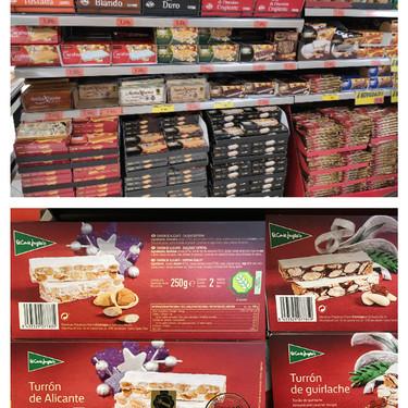 Mercadona, Lidl, El Corte Inglés...: quién fabrica esta Navidad los turrones de cada supermercado (y cuáles son los más baratos)