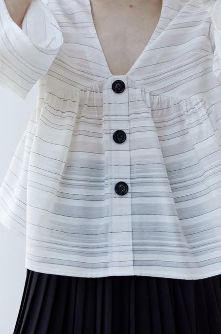 Tops Blusas Blancas Verano 2020 Sfera 02