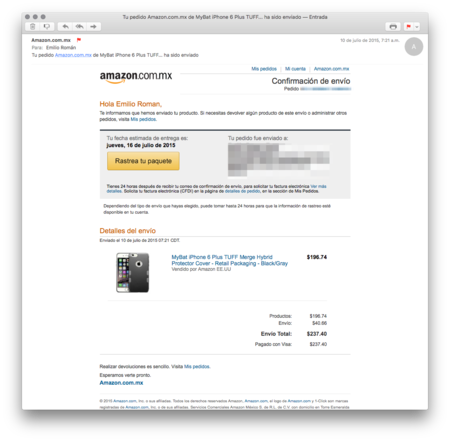 Amazon Mexico Compra 10