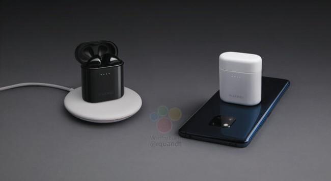 Estos auriculares de Huawei se pueden cargar sin cables... apoyándolos sobre la trasera del teléfono