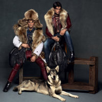 Filip Hrivnak & Julian Schneyder fornidos tramperos canadienses para Dsquared²