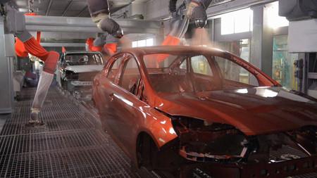 Cadena de montaje de Ford en Dearborn
