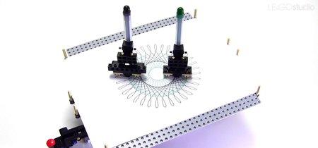 ¿Te acuerdas del Spirograph? Pues ahora robots de LEGO harán los dibujos por ti