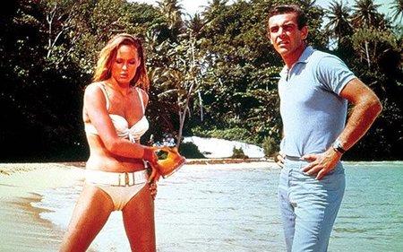 Ursula Andress y Sean Connery en El Agente 007 contra el Dr. No